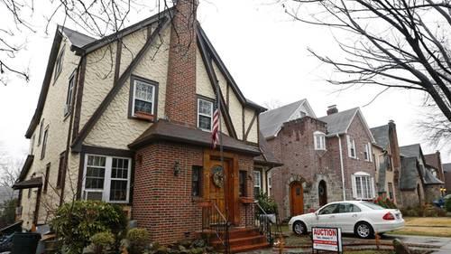 Trumps Geburtshaus ist ein nettes Haus - aber alles andere als ein Protzpalast.