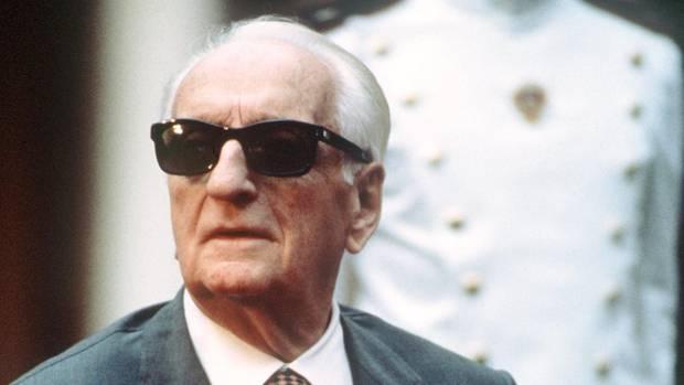 Enzo Ferrari starb 1988 im Alter von 90 Jahren