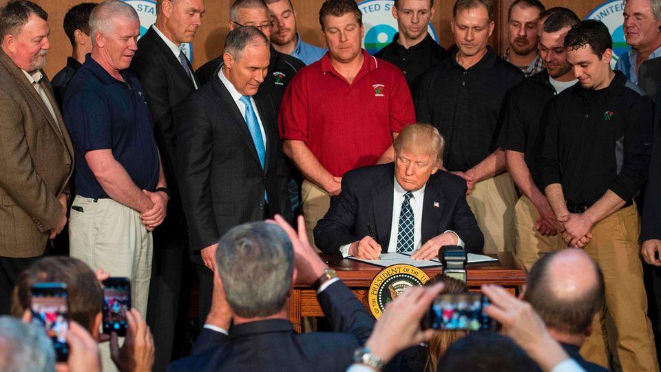 Donald Trump Klimadekret