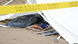 Vor zwei Wochen entdeckte die mexikanische Polizei ein Massengrab nahe Veracruz