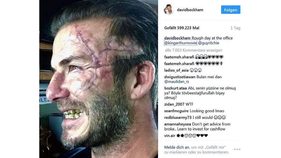 David Beckham: Mit diesem Instagram-Post schockt er seine Fans