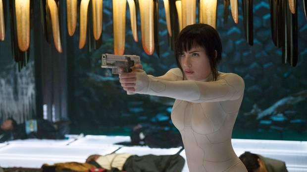 """Ghost in the Shell"" mit Scarlett Johannson"