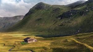 Prättigau, Graubünden, Schweiz: Fideriser Heuberge