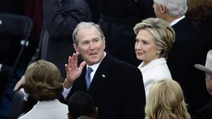 George W. Bush bei Inauguration