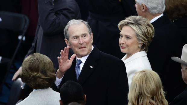 George W. Bush bei Inauguration