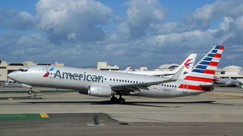Boeing 737 von American Airlines