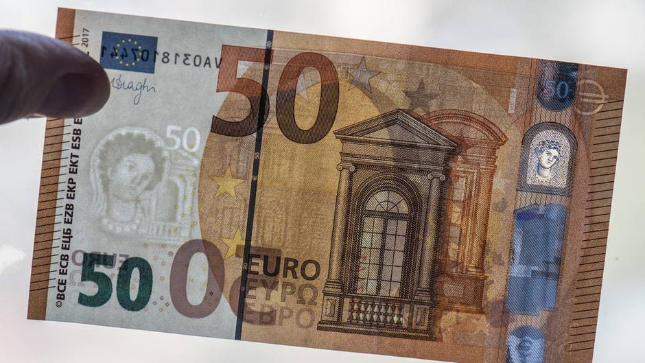 50 Euro Schein: Das sind die neuen Sicherheitsmerkmale | STERN.de