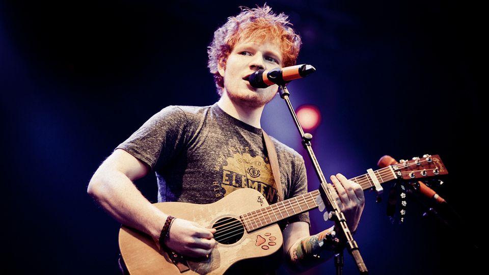 Frau wegen Ed Sheeran im Gefängnis