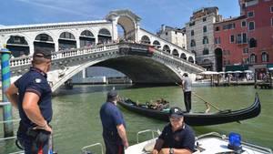 Rialto-Brücke in Venedig