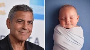 Wird bald Zwillingsvater sein: US-Schauspieler George Clooney (55)