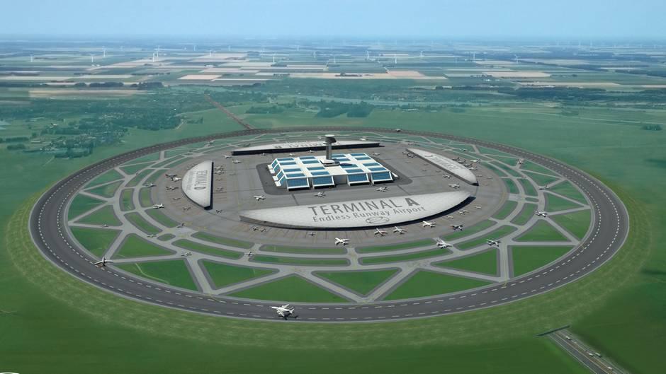 """Projekt """"Endless Runway"""": Sieht so der Flughafen der Zukunft aus?"""