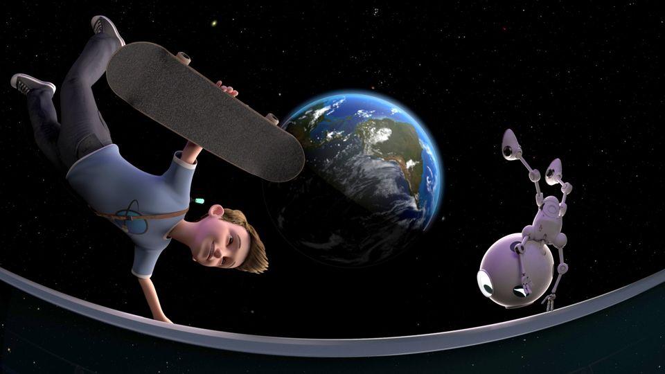 das Titelbild zum 360-Kinofilm Limbradur und die Magie der Schwerkraft