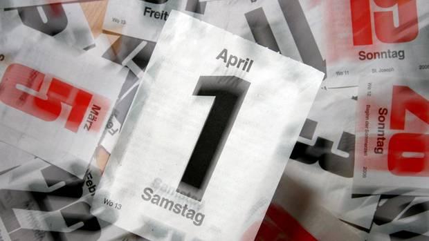 Aprilscherz -  1. April - Brauch