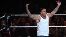 Ex-Nationaltorwart Tim Wiese im Wrestling-Ring