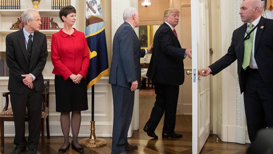 Trump vergisst Dekret