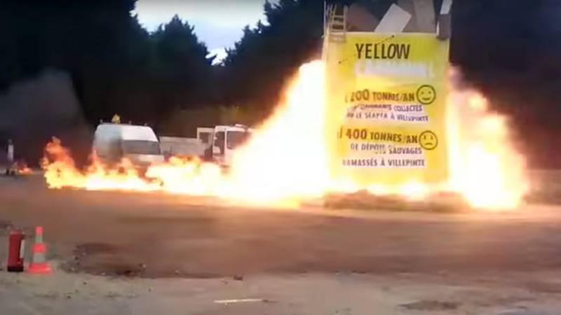 Frankreich Explosion Heute