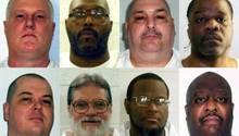Diese acht Häftlinge sollen in Arkansas in aller Eile hingerichtet werden