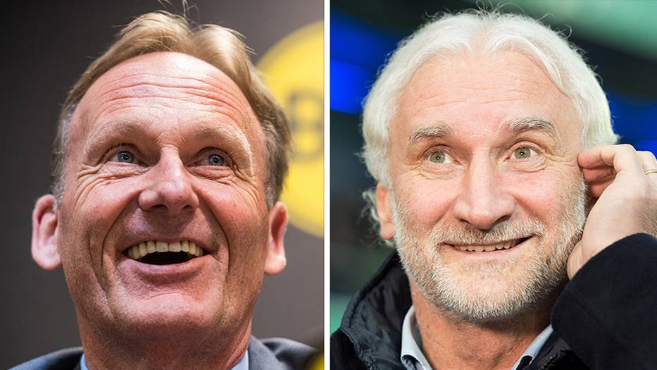 Rudi Völler und Hans-Joachim Watzke