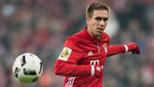 Philipp Lahm vom FC Bayern München sieht sich für Werbung missbraucht