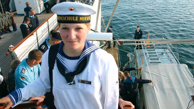 """Jenny Böken ging auf der """"Gorch Forck"""" über Bord und ertrank"""