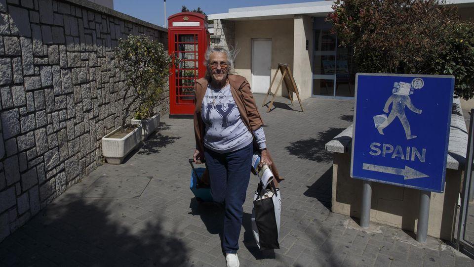 Gibraltar Grenze Spanien