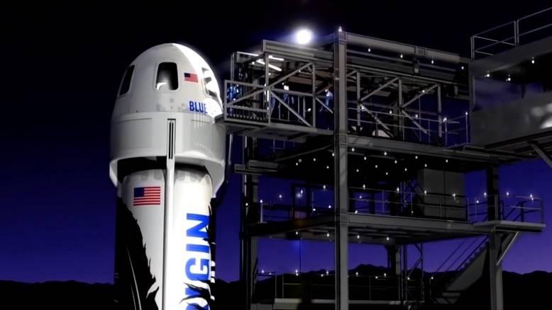 US-Firma Blue Origin: Mit dieser Raumkapsel sollen Touristen schon nächstes Jahr ins All fliegen