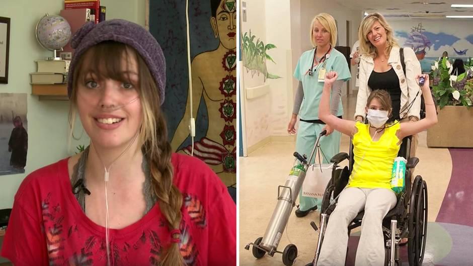 Youtube-Star Claire Wineland: Wie dieses Mädchen mit ihrer Krankheit umging, gab vielen Mut – jetzt ist sie gestorben