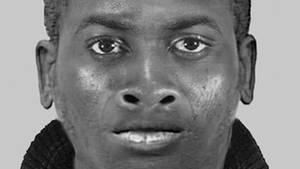 Phantombild des Täters, der in Bonn eine Frau vergewaltigt haben soll