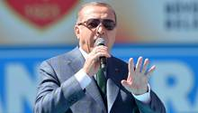 Präsident der Türkei Recep Tayyip Erdogan