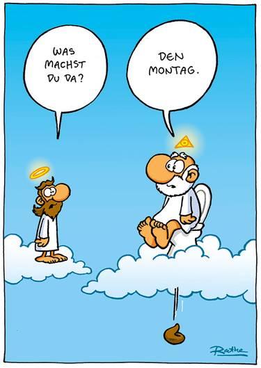 Cartoon Buch  Unheilige Bilder  STERNde ~ Kaffeemaschine Lustig