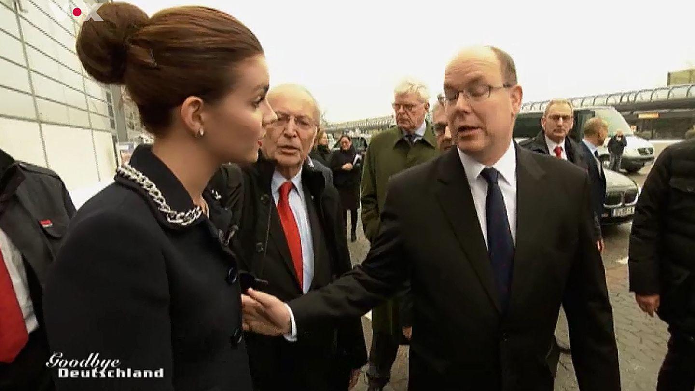 Nathalie Volk und Fürst Albert