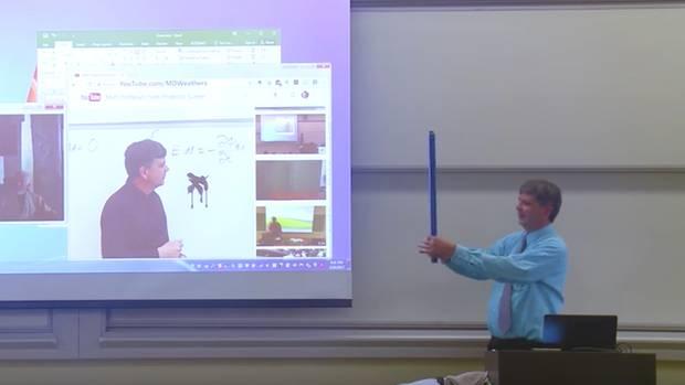 Matheprofessor Matthew Weathers