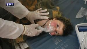 Unter den Opfern des mutmaßlichen Giftgasangriffs in Syrien sollen auch viele Kinder sein