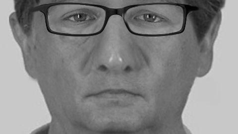 Mit diesem Phantombild sucht die Polizei nach einem Doppelmörder.