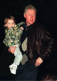 Tyler und sein Onkel Bill Clinton