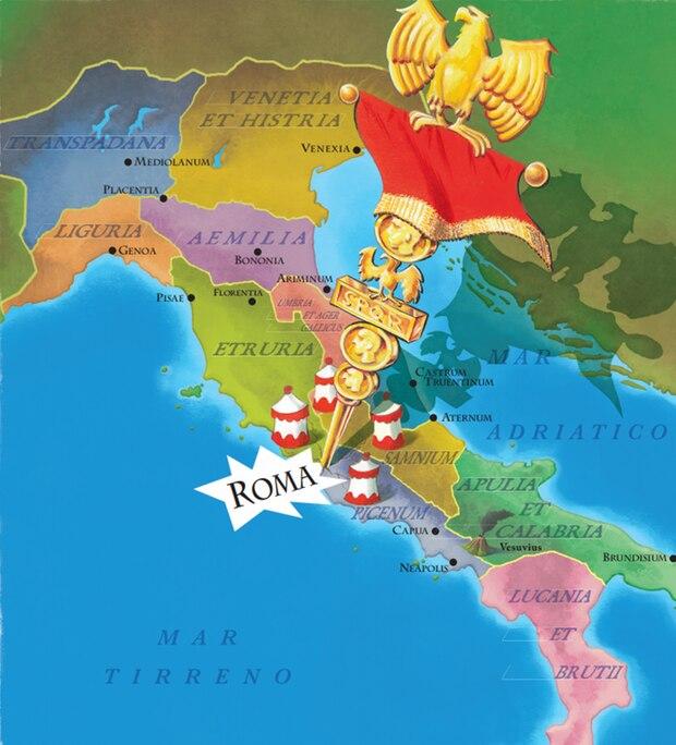 Das Jahr 50 v. Chr.: Ganz Italien ist von den Römern besetzt… Ganz Italien? Nein, nicht komplett! Während Cäsar von einem vereinten Italien träumt, besteht die Halbinsel aus verschiedenen Regionen, die großen Wert auf ihre Unabhängigkeit legen.