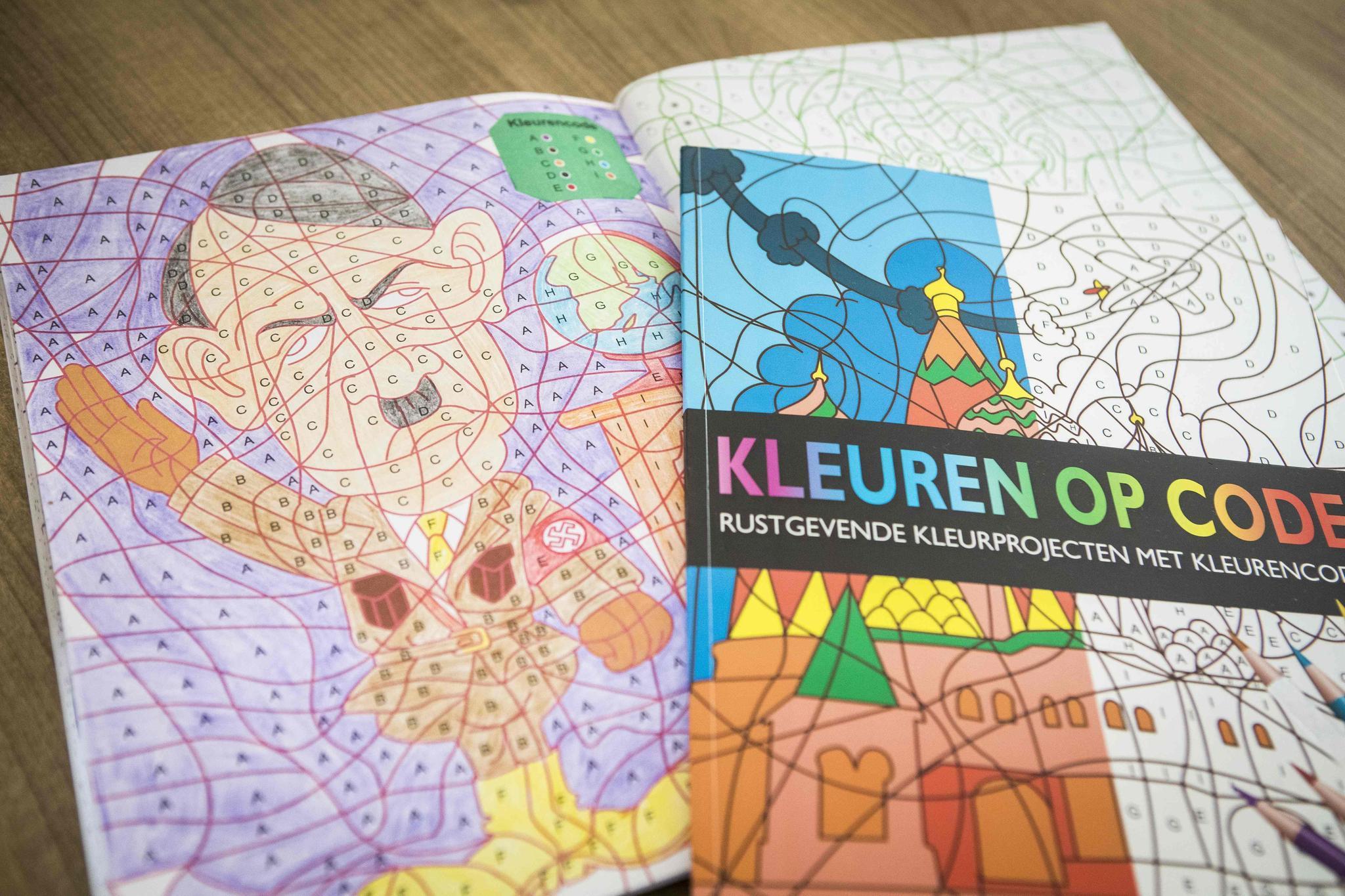 Adolf Hitler im Malbuch für Kinder | STERN.de