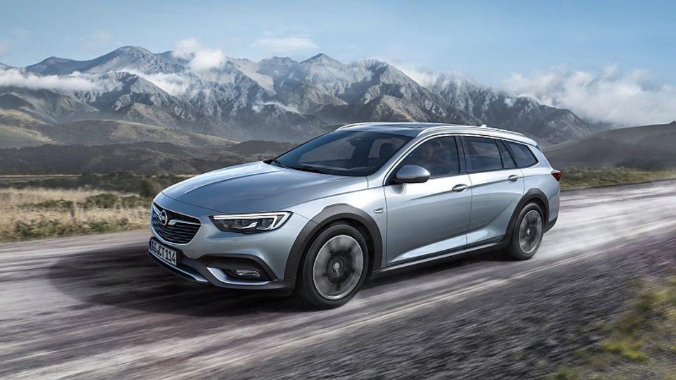 Opel Insignia Country Tourer - optisch leicht auf SUV gemacht