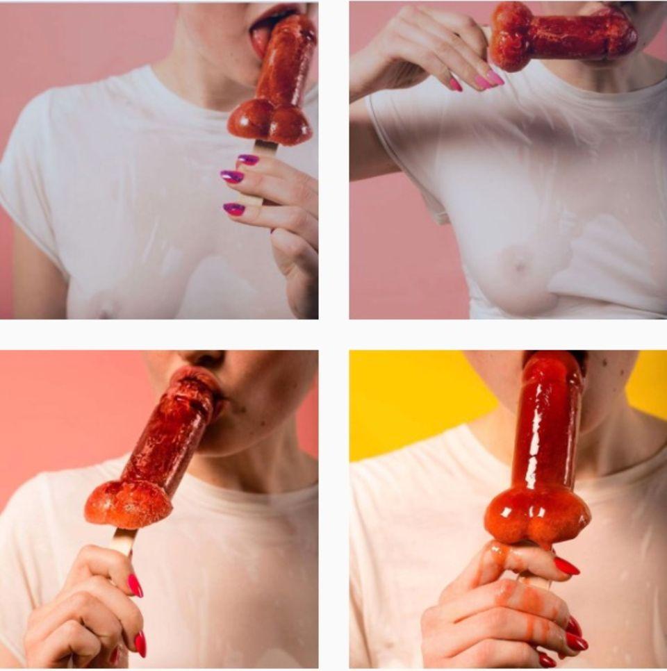 Der Instagram-Account der Marke zeigt sexy Fotos, die aber gleichzeitig nie ihre Ästhetik verlieren.