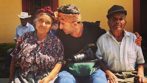 Land und Leute kennen lernen - das ist Simon wichtiger als Sehenswürdigkeiten abzuklappern. Das Bild entstand in Mexiko.