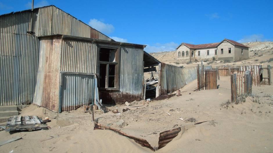 Geisterstadt Kolmanskop in Namibia