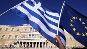 Griechenland erhält seit 2010 Unterstützung von dem IWF und den europäischen Partnern