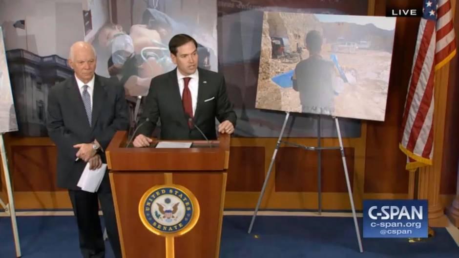 Nach Giftgasangriff und Vergeltung: So eindringlich erklärt Senator Marco Rubio die Lage in Syrien