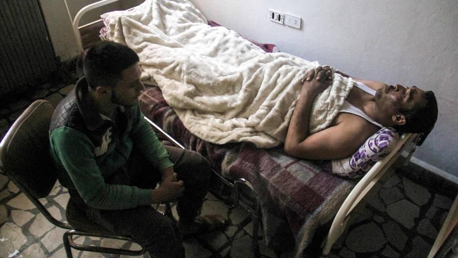 Krieg in Syrien: Mann überlebt Giftgas-Angriff - dank eines Tipps aus dem Fernsehen
