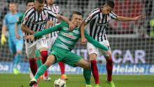 Fußball: Bundesliga, Eintracht Frankfurt - Werder Bremen