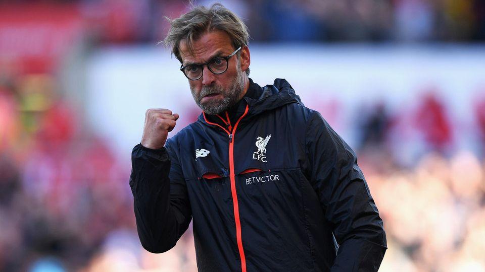 Jürgen Klopp bleibt mit dem FC Liverpool auf Champions-League-Kurs