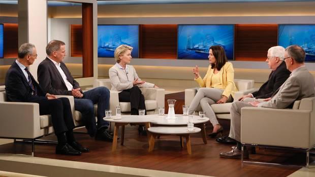 Gästerunde bei Anne Will zum Thema Syrien