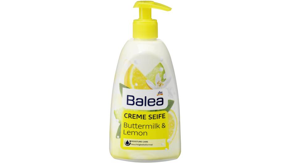 "Balea Creme Seife ""Buttermilk & Lemon"" von DM"