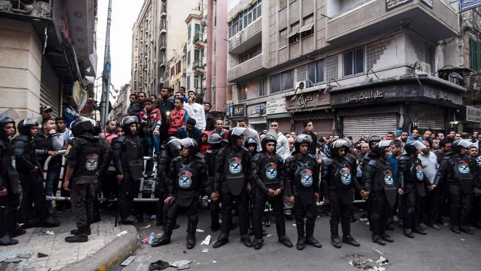 Auswärtiges Amt Erhöht Terrorwarnung Für ägypten Sternde