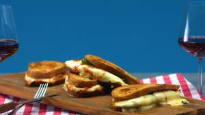 Pizza-Sandwich mal anders